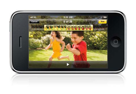 iPhone 3GS Vídeo