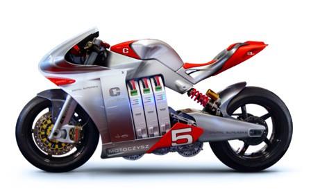 MotoCzysz E1pc: la moto con iPhone