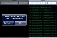 Geolocalización en Safari Mobile
