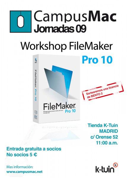 CampusMac Madrid FileMaker