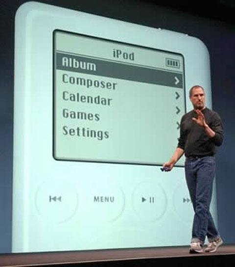 Jobs iPod