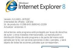Desagradable spot de Internet Explorer 8