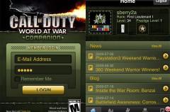 Call of Duty: World at War Companion disponible para el iPhone