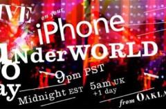 Concierto en vivo a través del iPhone