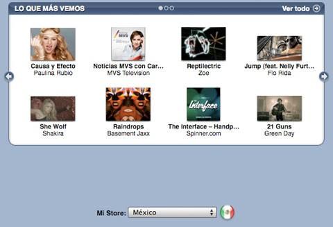 iTunes Store México