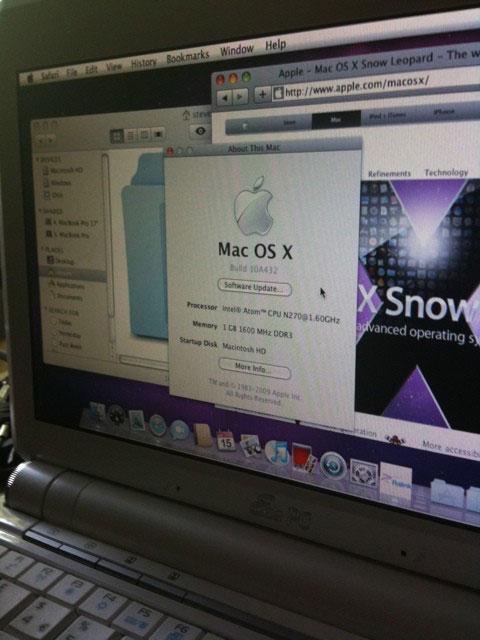 Snow Leopard en un Asus EEE PC