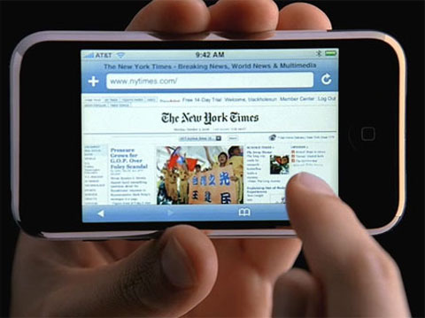 iPhone para acceder a Internet
