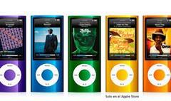 iPod Nano 5G: cámara de vídeo, micrófono, altavoz y radio FM