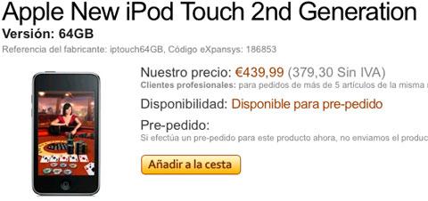 iPod Touch de 64GB