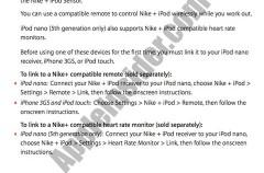 Nike tiene planes para el nuevo iPod Nano