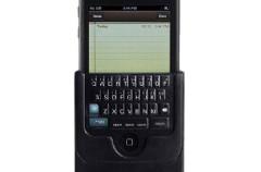Teclado QWERTY físico para el iPhone