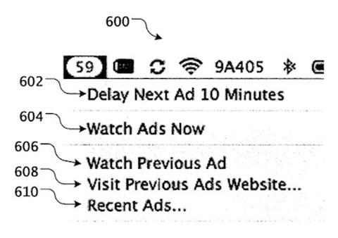 Patentes Publicidad Apple