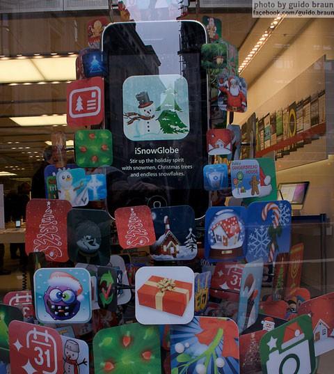 Árbol de navidad Apple Store