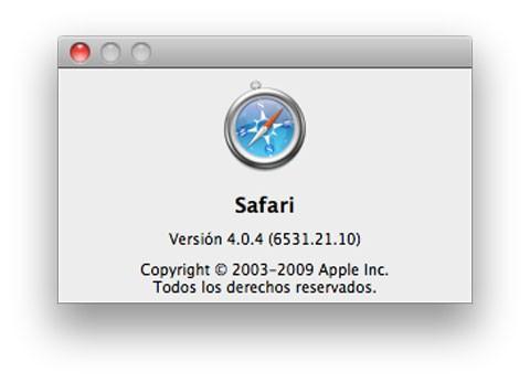 Safari 4.0.4
