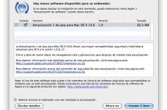 Apple actualiza Java para OS X 10.6