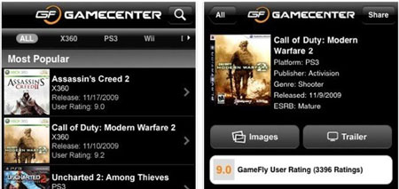 GameCenter, todo sobre tus videojuegos favoritos en el iPhone