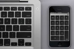 Usa tu iPhone/iPod Touch como teclado numérico