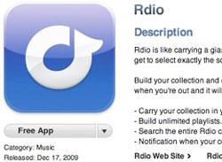 RdioIphone