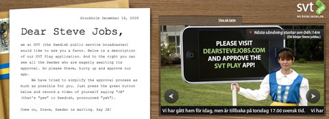 Carta abierta a Steve Jobs