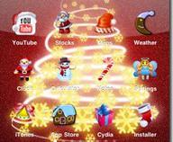 Temas de navidad para tu iPhone
