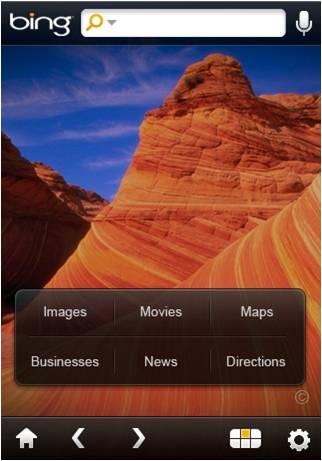 Bing para iPhone