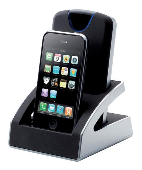 Dock con disco duro e iPod