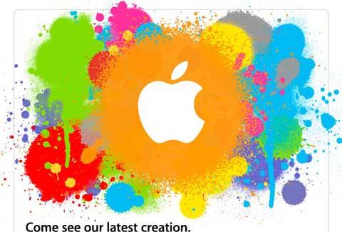 Invitación 27 de Enero Apple
