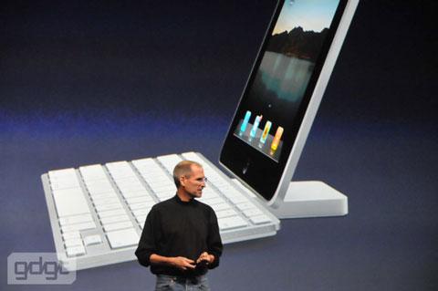iPad con teclado QWERTY