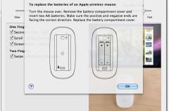 El problema de las pilas del Magic Mouse podría ser de software