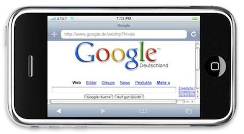 iPhone Google