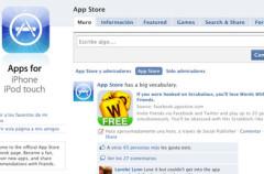 Apple crea una página en FaceBook para promocionar la AppStore