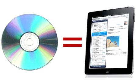 iPodMeister te da un iPad por tus CD/DVD