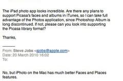 ¿iPhoto será mejor que Picasa en el iPad?
