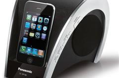 Atractivo sistema de audio para el iPod/iPhone