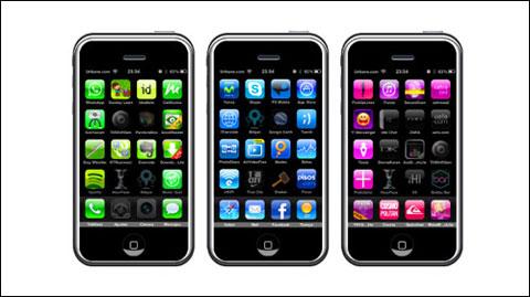 Tipografía iPhone