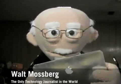 Walt Mossberg con su iPad