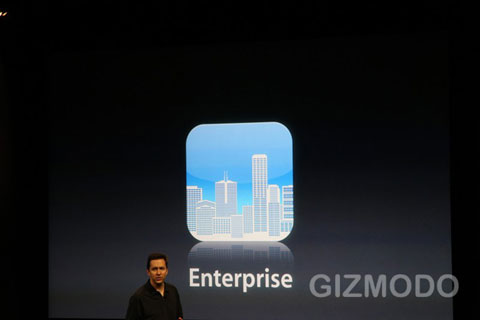 iPhone OS 4.0 Empresa