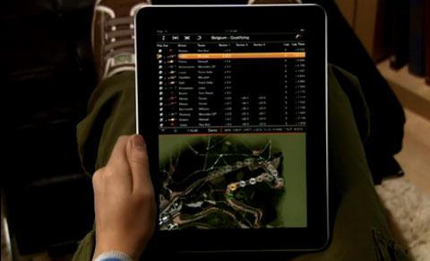 F1 iPad