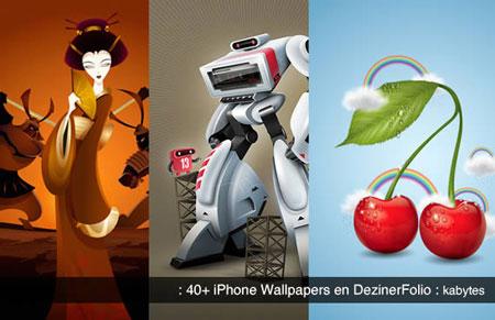 40 wallpapers para iPhone de gran calidad