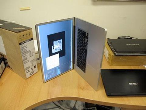MacBook Pro de lado