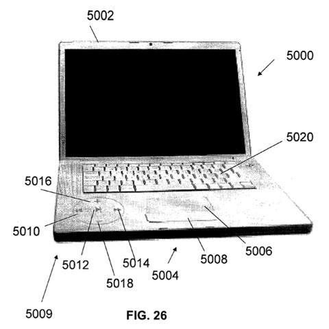 Patente de botones invisibles