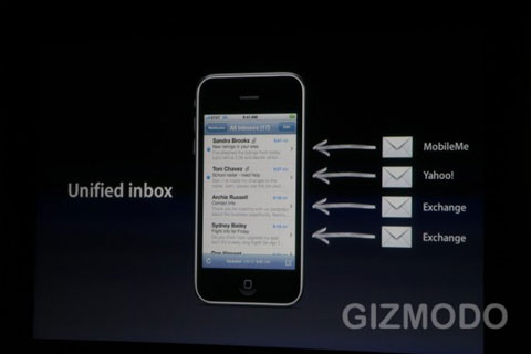 iPhone OS 4.0 Mail