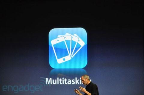 iPhone OS 4.0 Multitarea