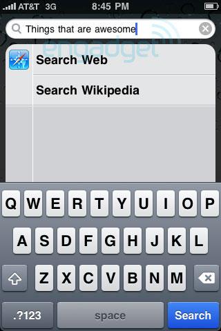 Wikipedia se sube al iPhone OS 4.0