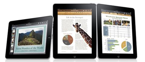 iWorkd iPad