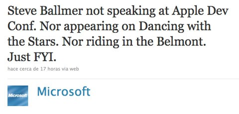 Twitter Microsoft