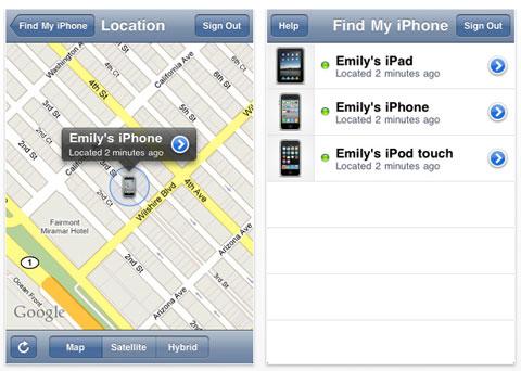 Find My iPhone para iPhone