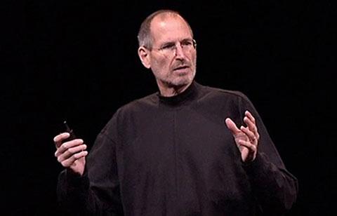 Steve Jobs durante la keynote del WWDC 2010