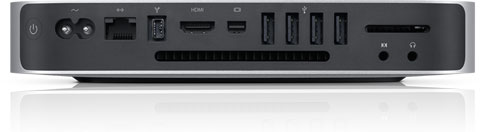 Mac Mini 2010 trasera