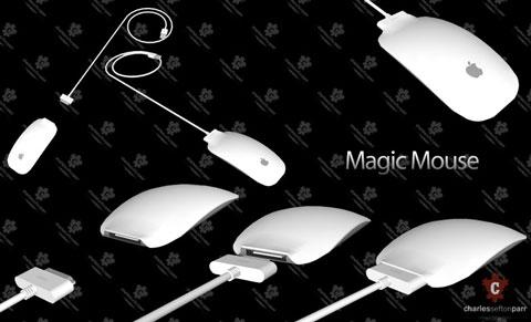 Magic Mouse con batería recargable